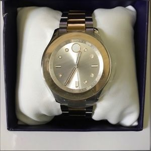Movado Two Tone Watch- Never worn- NWT